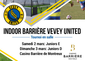 Indoor Barriere Vevey United